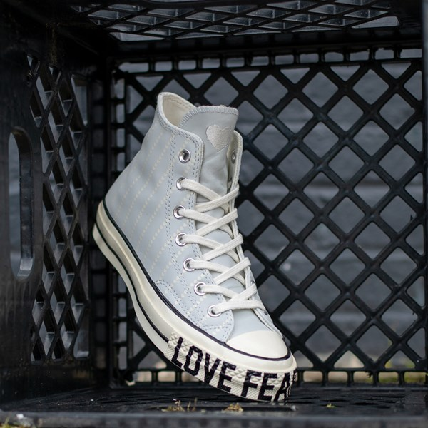 alternate view Womens Converse Chuck 70 Hi Love Fearlessly Sneaker - Photon DustALT1B