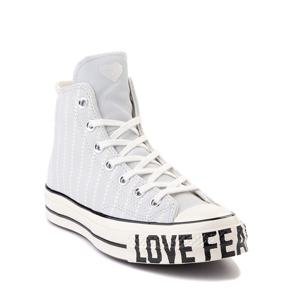 alternate view Womens Converse Chuck 70 Hi Love Fearlessly Sneaker - Photon DustALT1C