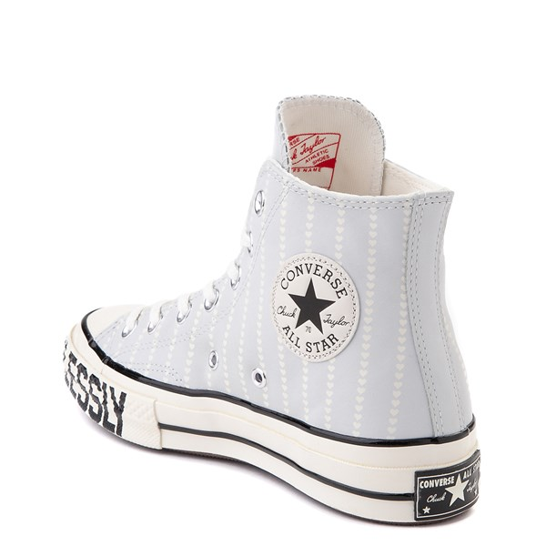 alternate view Womens Converse Chuck 70 Hi Love Fearlessly Sneaker - Photon DustALT2