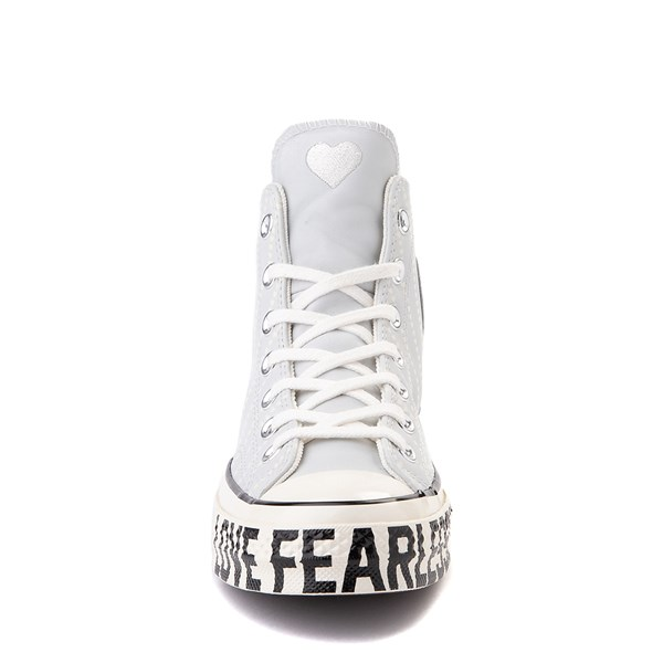 alternate view Womens Converse Chuck 70 Hi Love Fearlessly Sneaker - Photon DustALT4