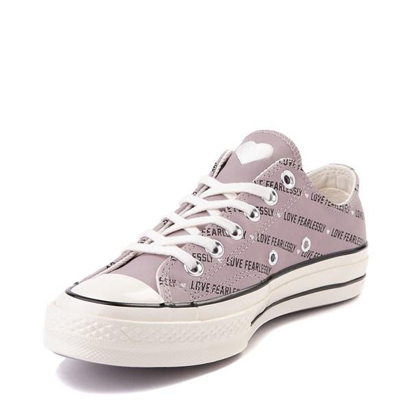alternate view Womens Converse Chuck 70 Lo Love Fearlessly Sneaker - Amethyst GrayALT3