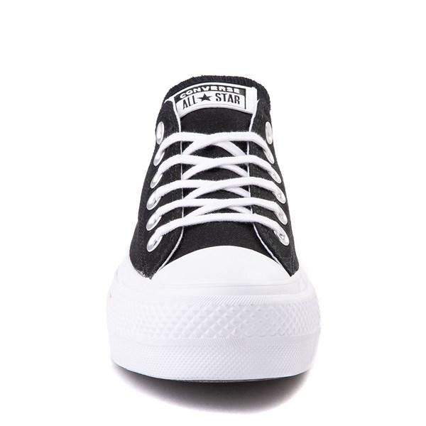alternate view Womens Converse Chuck Taylor All Star Lo Love Fearlessly Platform Sneaker - BlackALT4