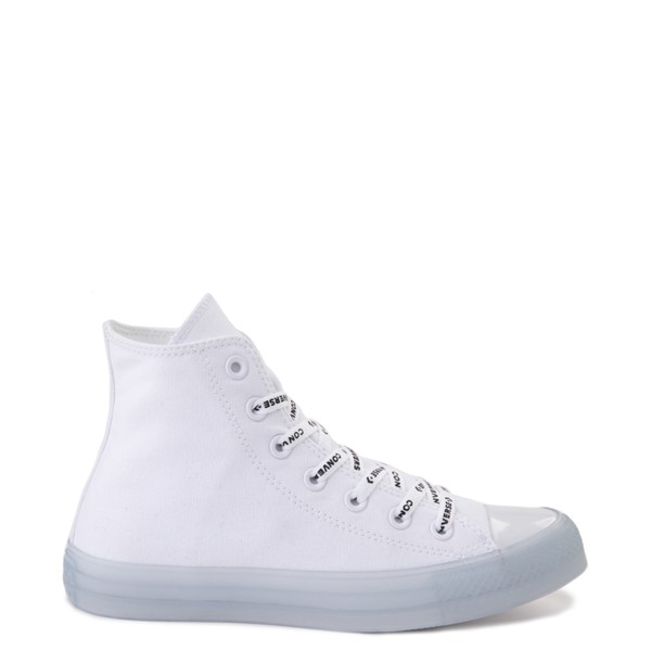 Converse Chuck Taylor All Star Hi Sneaker - White / Clear
