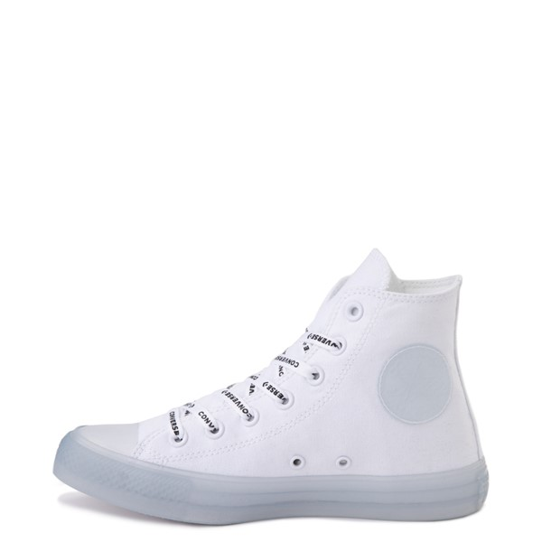 alternate view Converse Chuck Taylor All Star Hi Sneaker - White / ClearALT1