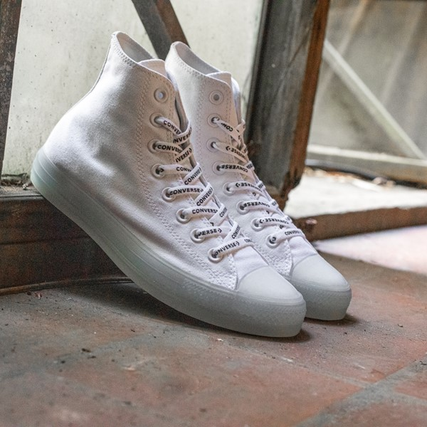 alternate view Converse Chuck Taylor All Star Hi Sneaker - White / ClearALT1B