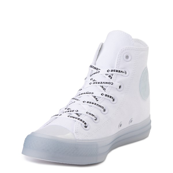 alternate view Converse Chuck Taylor All Star Hi Sneaker - White / ClearALT2