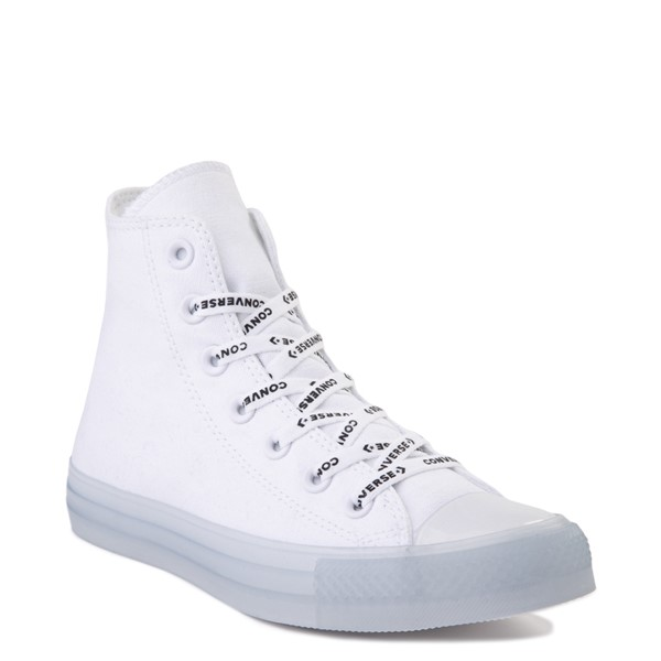 alternate view Converse Chuck Taylor All Star Hi Sneaker - White / ClearALT5