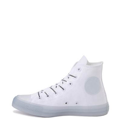 Alternate view of Converse Chuck Taylor All Star Hi Sneaker - White / Clear