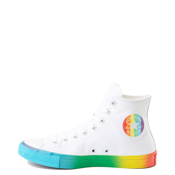 alternate view Converse Chuck Taylor All Star Hi Smiley Sneaker - White / MultiALT1