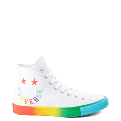 Main view of Converse Chuck Taylor All Star Hi Smiley Sneaker - White / Multi