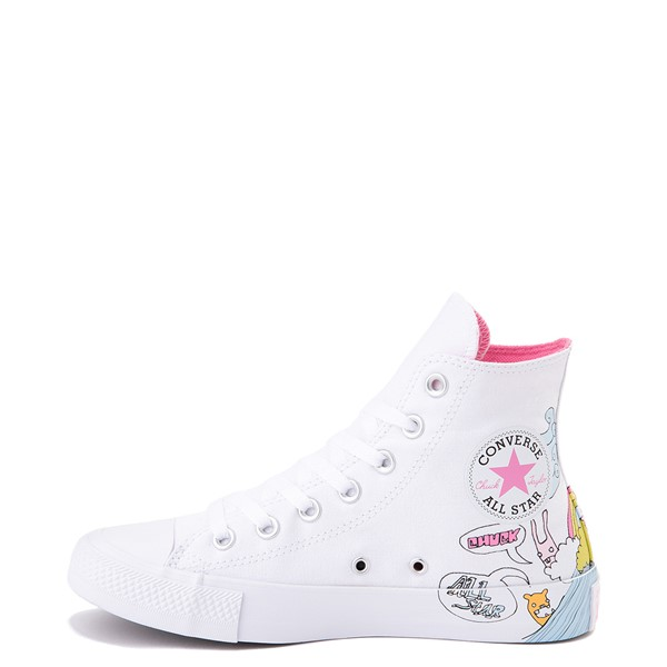 Alternate view of Converse Chuck Taylor All Star Hi Notebook Sneaker - White
