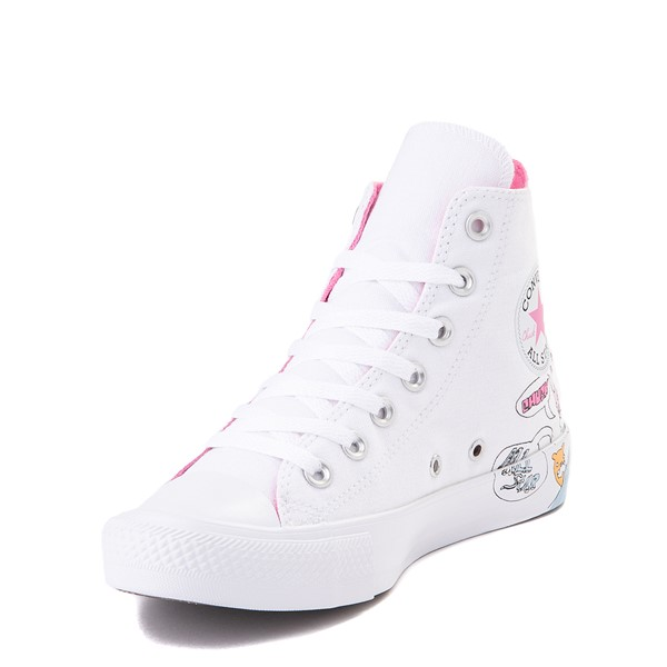 alternate view Converse Chuck Taylor All Star Hi Notebook Sneaker - WhiteALT2