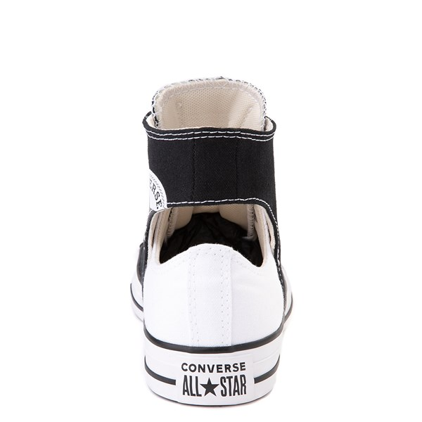 alternate view Converse Chuck Taylor All Star Hi Twisted Upper Sneaker - Black / WhiteALT2B