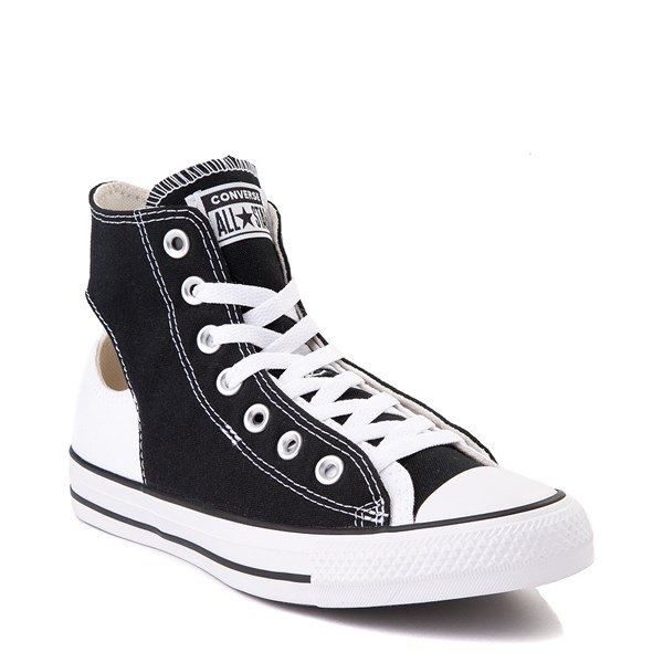 alternate view Converse Chuck Taylor All Star Hi Twisted Upper Sneaker - Black / WhiteALT2C