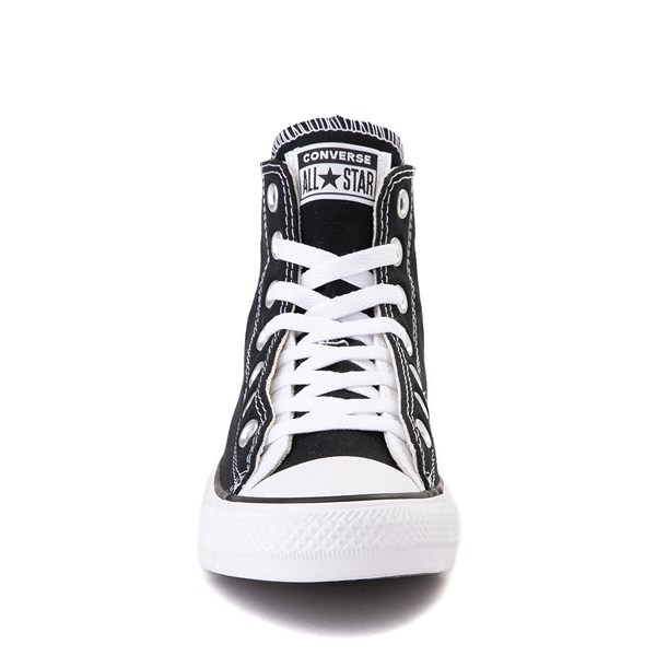 alternate view Converse Chuck Taylor All Star Hi Twisted Upper Sneaker - Black / WhiteALT4