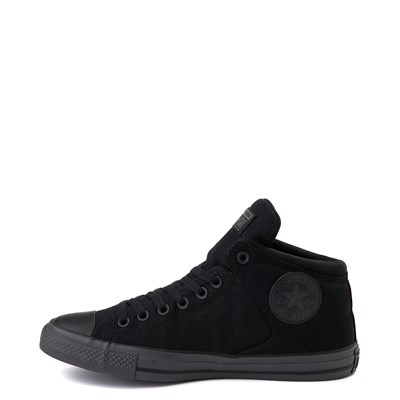 Alternate view of Converse Chuck Taylor All Star Street Hi Sneaker - Black Monochrome