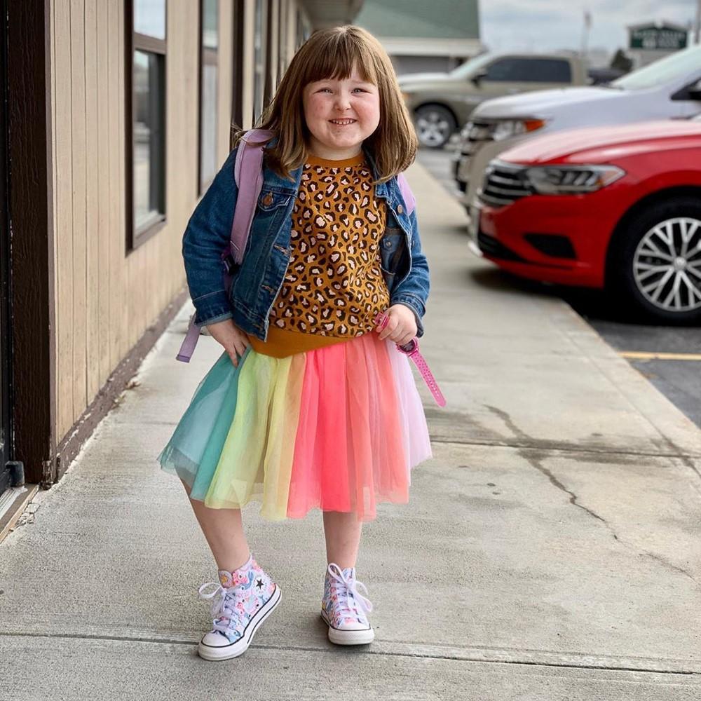 Converse Chuck Taylor All Star Hi Mermaids Sneaker Little Kid Big Kid White Multi