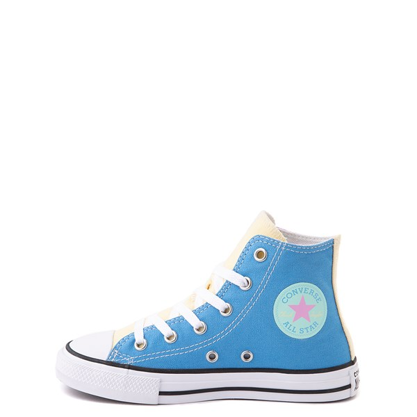 alternate view Converse Chuck Taylor All Star Hi Color-Block Sneaker - Little Kid - MultiALT1