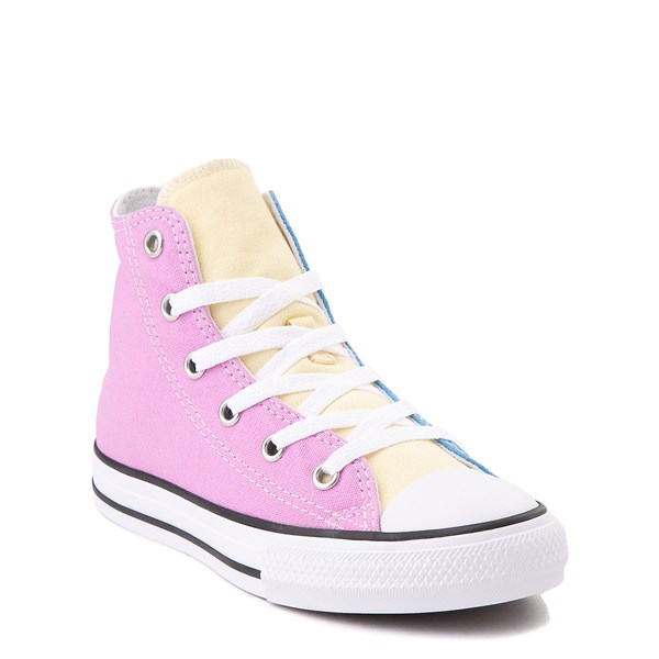 alternate view Converse Chuck Taylor All Star Hi Color-Block Sneaker - Little Kid - MultiALT1B