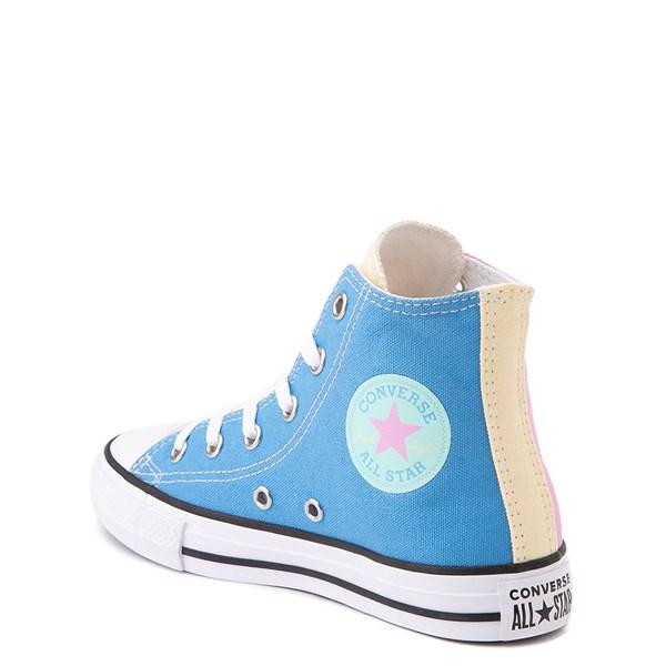 alternate view Converse Chuck Taylor All Star Hi Color-Block Sneaker - Little Kid - MultiALT2