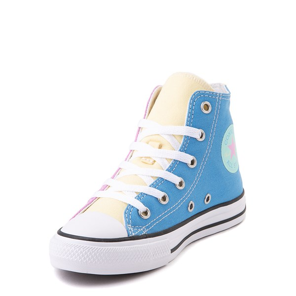 alternate view Converse Chuck Taylor All Star Hi Color-Block Sneaker - Little Kid - MultiALT3