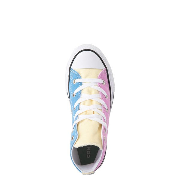 alternate view Converse Chuck Taylor All Star Hi Color-Block Sneaker - Little Kid - MultiALT4B