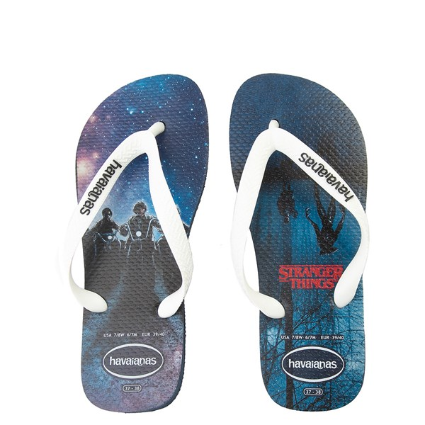 Main view of Havaianas Stranger Things Top Sandal - Navy