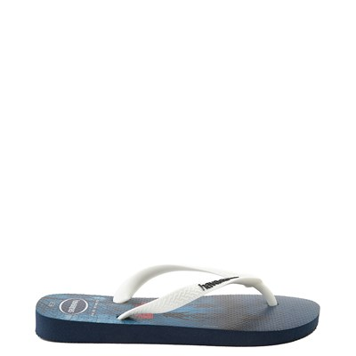Alternate view of Havaianas Stranger Things Top Sandal - Navy