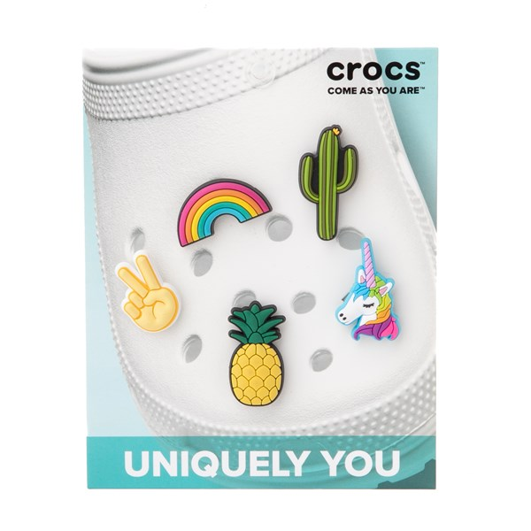 alternate view Crocs Jibbitz™ Fun Trend Shoe Charms 5 PackALT2