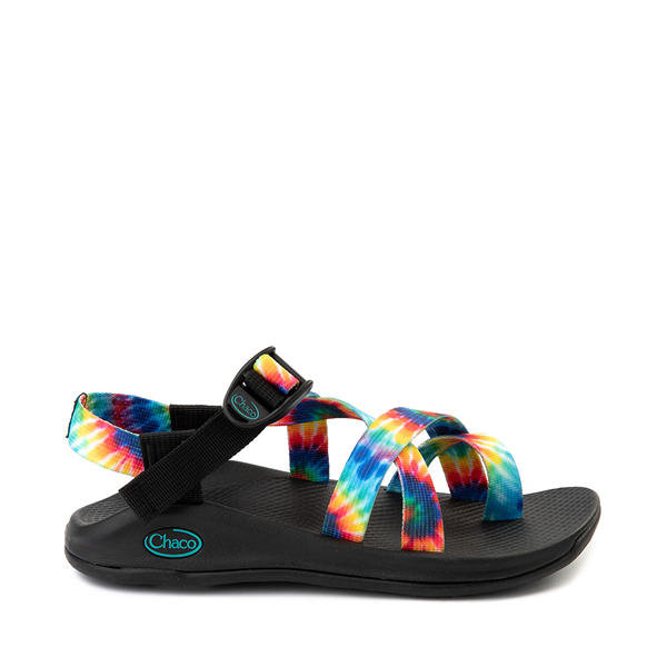 Main view of Womens Chaco Z/Boulder 2 Sandal - Tie Dye