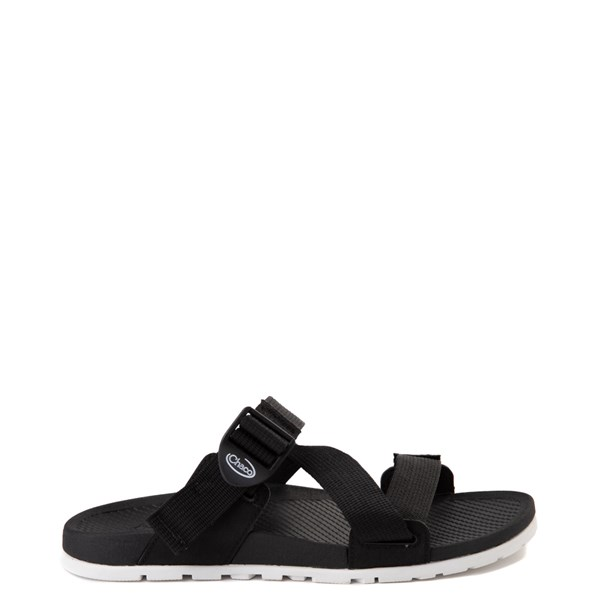 Main view of Womens Chaco Lowdown Slide Sandal - Black