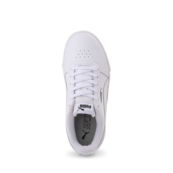 alternate view Puma Carina Athletic Shoe - Little Kid / Big Kid - WhiteALT2