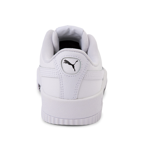 alternate view Puma Carina Athletic Shoe - Little Kid / Big Kid - WhiteALT4