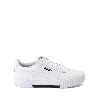 Main view of Puma Carina Athletic Shoe - Little Kid / Big Kid - White
