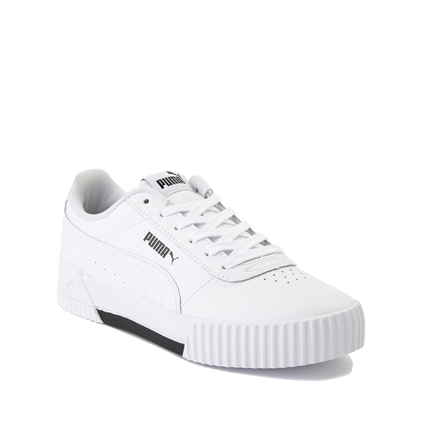 alternate view Puma Carina Athletic Shoe - Big Kid - WhiteALT5