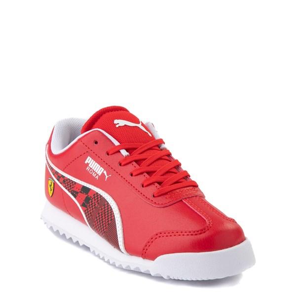 alternate view Puma Scuderia Ferrari Roma Athletic Shoe - Little Kid / Big Kid - RedALT1