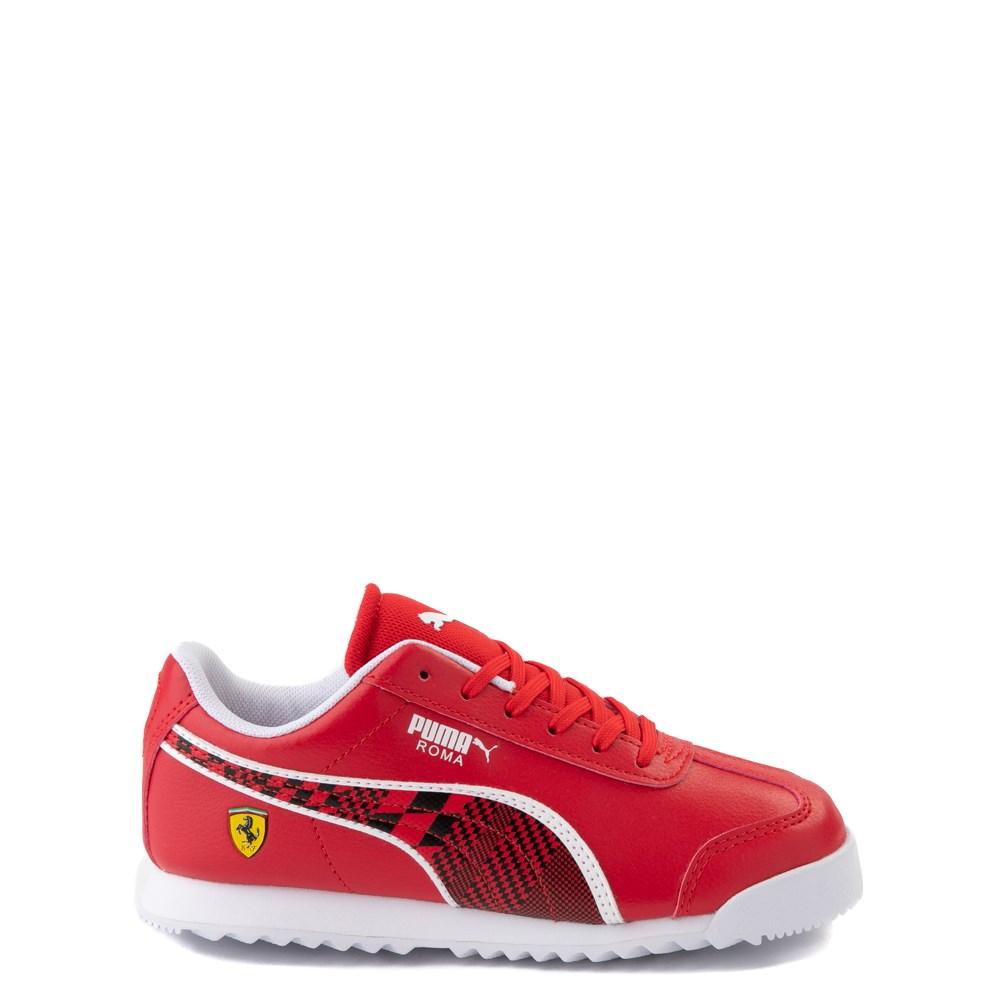 Puma Scuderia Ferrari Roma Athletic Shoe - Little Kid / Big Kid - Red