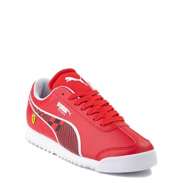 alternate view Puma Scuderia Ferrari Roma Athletic Shoe - Big Kid - RedALT1