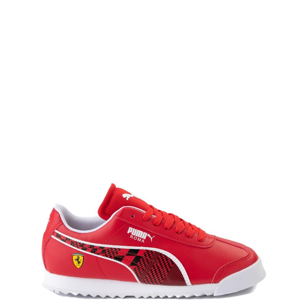 Puma Scuderia Ferrari Roma Athletic Shoe - Big Kid - Red