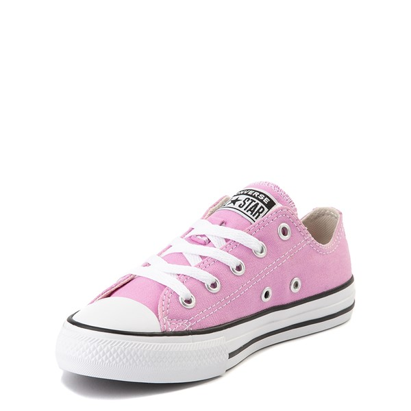 alternate view Converse Chuck Taylor All Star Lo Sneaker - Little Kid - Peony PinkALT2