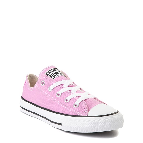 alternate view Converse Chuck Taylor All Star Lo Sneaker - Little Kid - Peony PinkALT5
