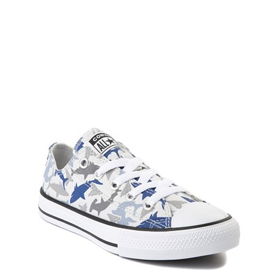 Alternate view of Converse Chuck Taylor All Star Lo Sharks Sneaker - Little Kid - Photon Dust