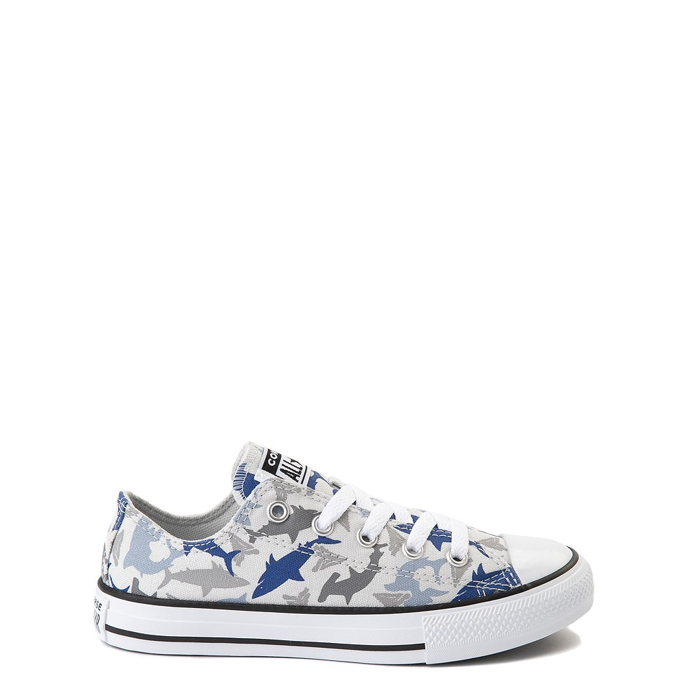 Converse Chuck Taylor All Star Lo Sharks Sneaker - Little Kid - Photon Dust