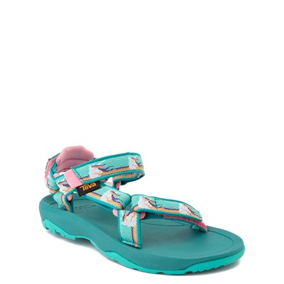 Alternate view of Teva Hurricane XLT2 Sandal - Little Kid - Turquoise / Unicorn Waterfall
