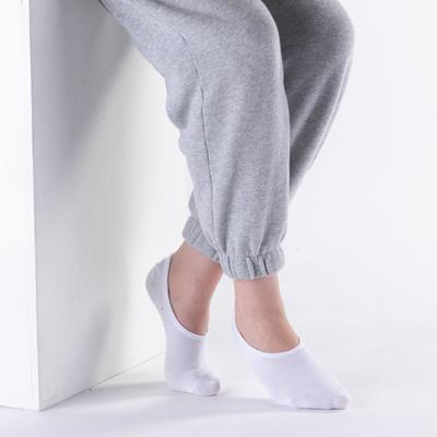 Alternate view of Womens No Show Socks 5 Pack - White