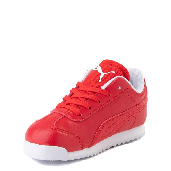 alternate view Puma Scuderia Ferrari Roma Athletic Shoe - Toddler - RedALT3