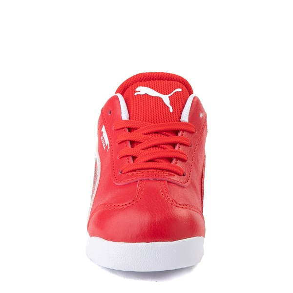 alternate view Puma Scuderia Ferrari Roma Athletic Shoe - Toddler - RedALT4