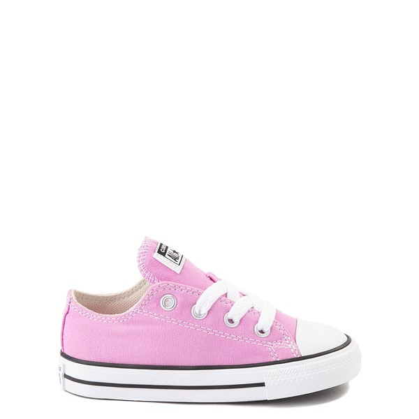 Main view of Converse Chuck Taylor All Star Lo Sneaker - Baby / Toddler - Peony Pink