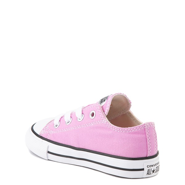 alternate view Converse Chuck Taylor All Star Lo Sneaker - Baby / Toddler - Peony PinkALT1