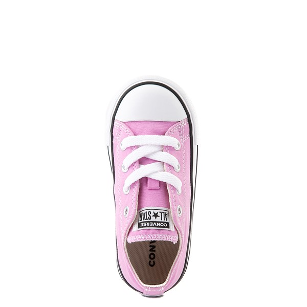 alternate view Converse Chuck Taylor All Star Lo Sneaker - Baby / Toddler - Peony PinkALT2